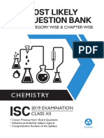 (Most Likely Question Bank Chemistry for ISC Class 12 Standard XII Chapter wise Topic wise) Oswal Teachers - Most Likely Question Bank Chemistry for ISC Class 12 Standard XII Chapter wise Topic wise O.pdf