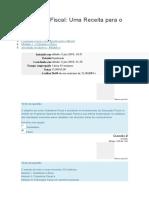 Cidadania Fiscal - Uma Receita Para o Brasil - AV 1