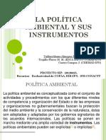 La Politica Ambiental y Sus Instrumentos