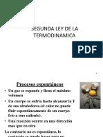 Clase Segunda Ley de La Termodinamica 2017-i[1]