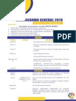 Cronograma General 2019