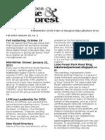Lfpr Newsletter Fall 2010