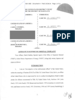 First Uranium One Indictment dated Oct 29th, 2014 was 21-pages