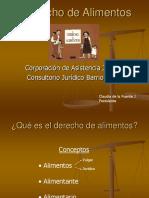 Derecho de Alimentos Claudia de La Fuente