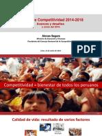 PPT Avance Agenda Competitividad a Junio 2016