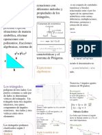 triptico matematica