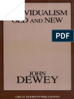 (Great Books in Philosophy) John Dewey - Individualism Old and New-Prometheus Books (1999)