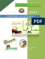 Lenguaje Algebraico - Documento de Trabajo