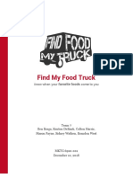 find my food truck report