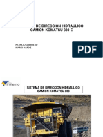 351403519 Curso Sistema Hidraulico Camion 830e Komatsu Alimentacion Direccion Levantelubricacion PDF Convertido