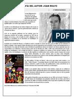 Biografía Del Autor Juan Rulfo