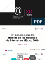 Estudio sobre los Hábitos de los Usuarios de Internet en México