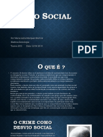 Desvio Social