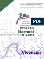 Vivencias Proceso Electoral 2017-2018 (México)