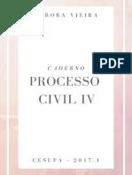 Caderno - Processo Civil IV