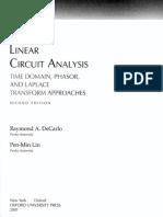 Linear Circuits Analysis de Carlo