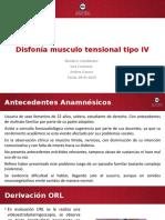 Caso clinico DMT IV