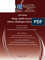 Cipr Study 1812 Health Care Costs