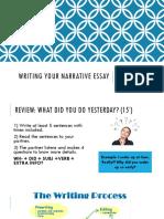 Writing the Narrative Essay