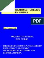 Planeamiento Estrategico en Mineria 2