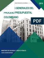 Proceso Presupuestal Ministerio de Hacienda 2019