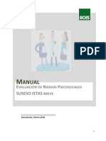 Manual Para La Evaluacion de RPS-2018