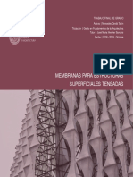 Membrana Para Estructuras Superficiales Tensadas_Mercedes Cerda
