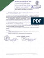 19.- Reglamento Para La Obtención de Grado Académico y Titulo Profesional de La Unj,
