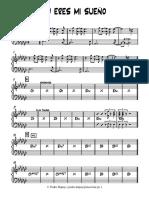 TU ERES MI SUEÃ_O - Piano