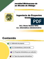 Unidad I Introduccion a La Ing. Proyectos