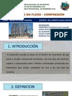 Miembros en Flexo-compresion