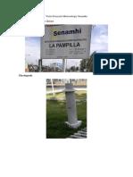 Visita Estación Meteorología Senamhi