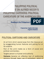 Selected Philippine Political Caricature on Alfred McCoy's Philippine