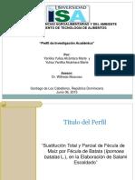 """Perfil de Investigación Académica"".ppt"