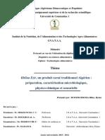 Caractéristiques Physico Chimiques Des Viandes
