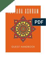 Play Ashram Guest Handbook