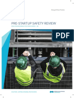 Engineering Position Paper Pre-Start-Up Safety Review-03-2016