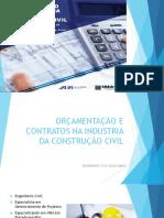 Orçamentação e Contratos Na Industria Da Construção Civil