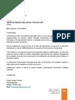 Cotización q10 Académico - Centro de Servicios Educativos Proyecto Ser