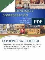 Oscar Cantero - Independencia(s) y Confederación