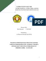 Laporan Kasus Ujian Cbd HPP