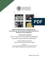 -NUDELMAN - Modelo de Simulación de La Sostenibilidad Del Ciclo Urbano Del Agua, Aplicable a Peque...