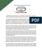 RESEÑA HISTORICA AUTOMOTORES TOYOTA.docx