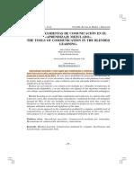 Almenara Et Al. - 2004 - Las Herramienas de Comunicación en El Aprendizaje