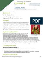 Surface Tension Basics - Lesson - TeachEngineering