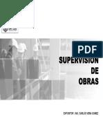 01. Supervisión de Obras