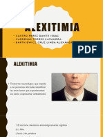Alexitimia Ppt Final