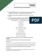 04- Evaluación Lengua y Comunicación IV 05-2019