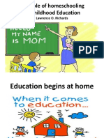 The Role of Homeschooling in Childhood Education