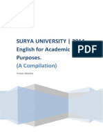 English for Academic Purposes_SURYA UNIVERSITY_2014